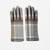 SOFT CONTRAST FABRIC GLOVES DETAILS