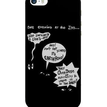 Zoo Animal Conversation During Earth Hour iPhone 5 / 5S Case