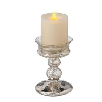4 Pillar Christmas Candle Holders - Candle Not Included