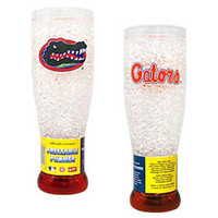 Florida Gators NCAA Crystal Pilsner Glass