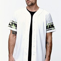 On The Byas Craig Baseball Jersey - Mens Tee - White