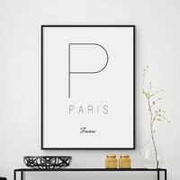Sale!!! Paris print, Paris poster, Paris printable, Paris decor, Paris art, French print, French poster, French art, French decor