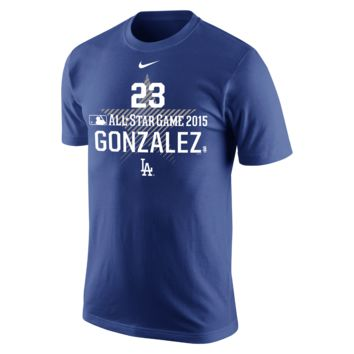 Nike ASG Name and Number (MLB Dodgers / Adrian Gonzalez) Men's T-Shirt