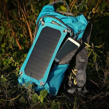 Solar Charger Backpack For Campers