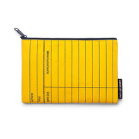 Library Card: Yellow pouch