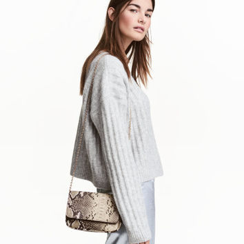 Ribbed Sweater - from H&M