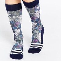 Adidas | adidas Originals Floral Print Socks at ASOS