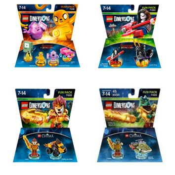 Lego Dimensions Chima Adventure Time Team Pack | A Lego Dimensions Team Pack