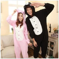 New Animal Anime Adult Kigurumi  peppa Pig Onesuit Pyjama Costume  for Fancy Dress-in Costumes from Apparel & Accessories on Aliexpress.com