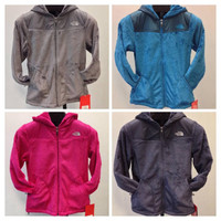NEW WOMEN'S THE NORTH FACE OSO HOODIE- WARM, SOFT, PLUSH FLEECE- GRAY- BLUE-PINK