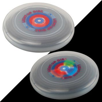 DMI Sports Glo-Bright Light Up Flying Disc - Other Outdoor Games at Hayneedle