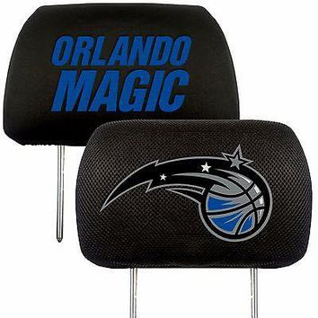 Orlando Magic 2-Pack Auto Car Truck Embroidered Headrest Covers