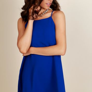 All About You Shift Dress Royal