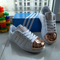 """Adidas"" Fashion Casual Unisex Sneakers Shell Head Plate Shoes Couple Running Shoes"