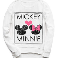Mickey Minnie Sweatshirt (Kids)