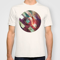 Space stained glass T-shirt by Tony Vazquez