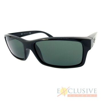 Kalete NEW RAY BAN RB4151 SUNGLASSES COLOR 601 BLACK SIZE 59-17-140