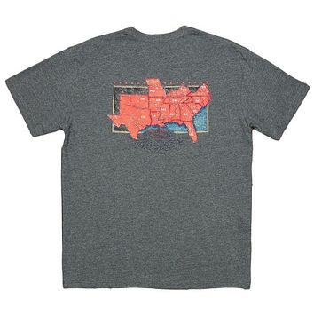 The South River Route Tee by Southern Marsh