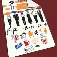 "Friends TV Show collage 8da9a193-ba04-49f5-bf34-2609da764687 Kids Blanket Game Blanket All Character Popular Game, Cute and Awesome Blanket for your bedding, Blanket fleece ""NP"""