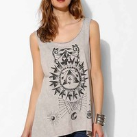 Project Social T Compass Tank Top- Grey M