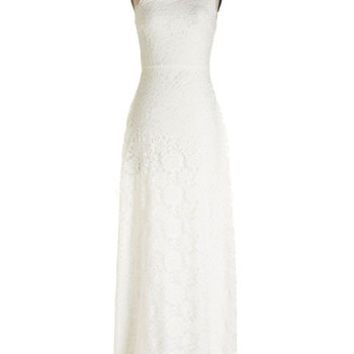 ModCloth One Shoulder Maxi Sparkle in Your Style Dress