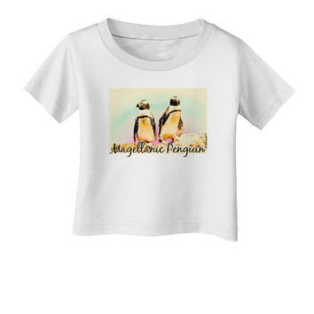 Magellanic Penguin Text Infant T-Shirt