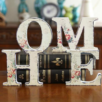 Home Alphabet Stylish Decoration Fashion Home Decor = 5893928065