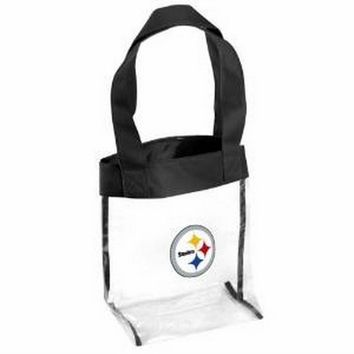NFL - Forever Collectibles NFL Pittsburgh Steelers Clear Tote Bag