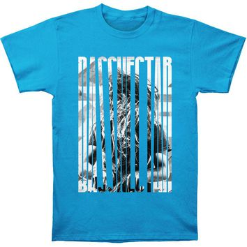 Bassnectar Men's  Stretch Slim Fit T-shirt Turquoise