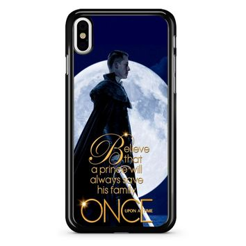 Once Upon A Time Believe A Prince iPhone X Case