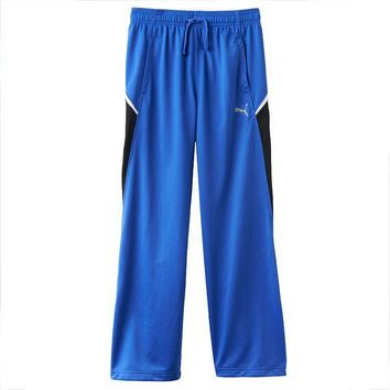 puma colorblock core track pants boys  number 2