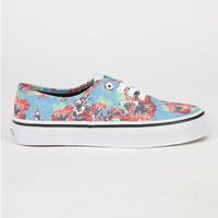 Vans Star Wars Authentic Boys Shoes Yoda Aloha  In Sizes