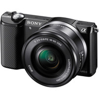 Alpha a5000 Mirrorless Digital Camera with 16-50mm Lens (Black)