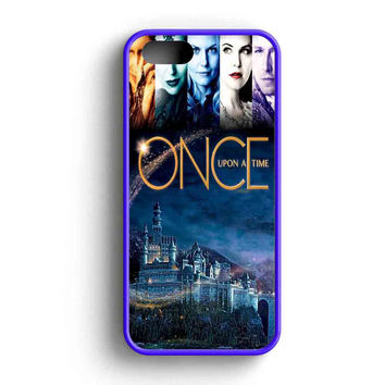 Once Upon A Time Cool Poster  iPhone 5 Case iPhone 5s Case iPhone 5c Case