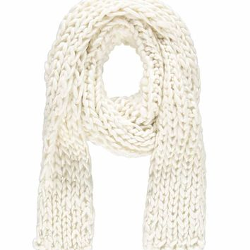 Open-Knit Oblong Scarf