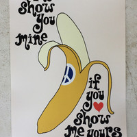 POSTER - I'LL SHOW YOU MINE IF YOU SHOW ME YOURS - Sugarhigh Lovestoned