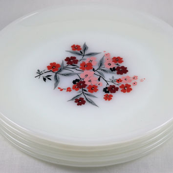 Fire King Primrose Salad Plate
