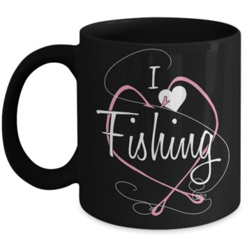 I Love Fishing Mug
