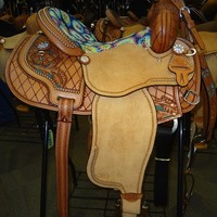 "Sharon Camarillo ""Hippie"" Stingray Saddle"