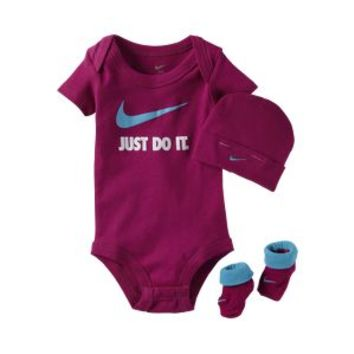 The Nike Just Do It Three-Piece Infant Girls' Set.