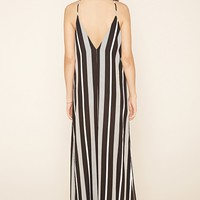 Contemporary Stripe Maxi Dress