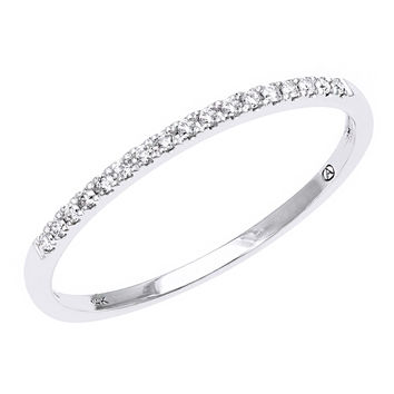 Beverly Hills Charm 14K Gold Diamond Accent Anniversary Band Ring (H-I, SI2-I1) | Overstock.com Shopping - The Best Deals on Women's Wedding Bands