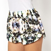 Finders Keepers Walk Home Shorts in Floral Print