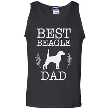 Best Beagle Dad Shirt Father's Day Gift Dog Lover Daddy