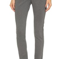 Slim Pants with Jersey Side Detail