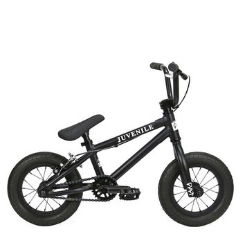 "Cult Juvenile 12"" Black Complete BMX Bike 2016"