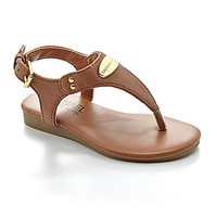 MICHAEL Michael Kors Girls' Demi Vervain Sandals