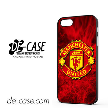 Fire For Manchester United DEAL-4227 Apple Phonecase Cover For Iphone 5 / Iphone 5S