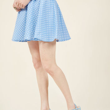 The Retro Remedy Mini Skirt