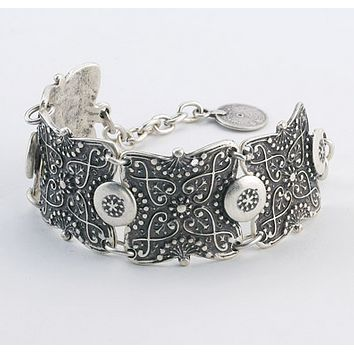 Vintage Etched Turkish Bracelet